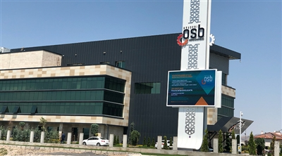 Kayseri Organized Industrial Zone Led Screen