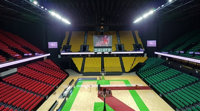 Dakar Arena Senegal  Wall Led Screen Project