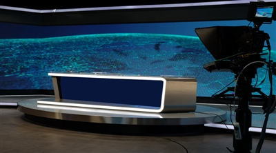 TRT El-Arabia Studio Broadcasting Led Screen Project