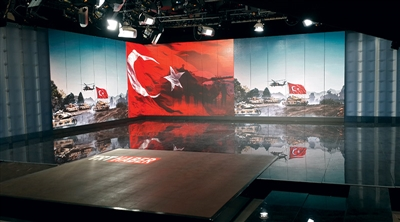 TRT Ankara A Studio Led Screen Project