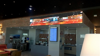 Frankfurt Airport Tav Lounge Led Screen Project
