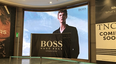 İstanbul New Airport HUGO BOSS Led Screen Project