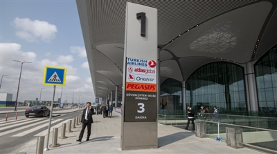 Istanbul Airport Curbside Led Screen