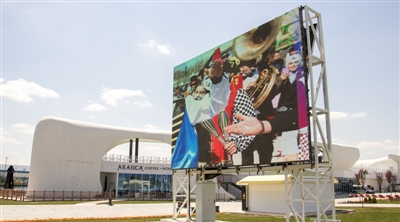Wonderland Eurasia Advertising Led Screen