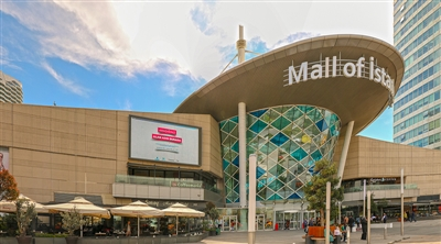 Mall of Istanbul Facade LED Screen