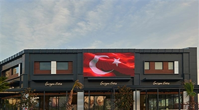 Beylikdüzü Teraspark Mall Facade Led Screen