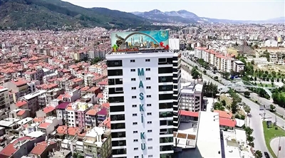 Manisa Maski Kule Outdoor Led Screen Project